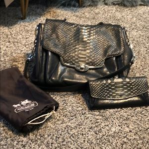 Authentic Coach Handbag and Wallet (dust bag too)